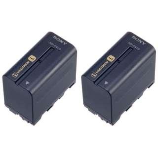 リチャージャブルバッテリーパック 2NP-F970/B