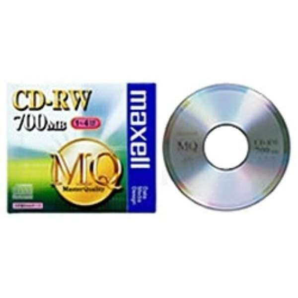 CDRW80MQ.S1P データ用CD-RW MQシリーズ [1枚 /700MB]