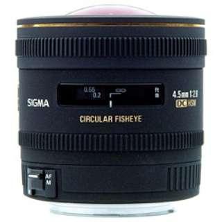カメラレンズ 4.5mm F2.8 EX DC CIRCULAR FISHEYE HSM APS-C用 ブラック [シグマ /単焦点レンズ]