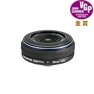 カメラレンズ 25mm F2.8 ZUIKO DIGITAL(ズイコーデジタル) ブラック [フォーサーズ /単焦点レンズ]