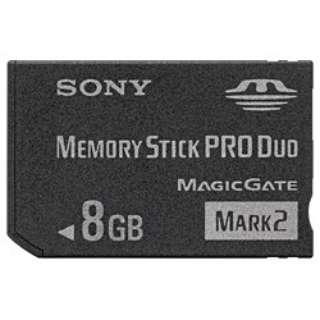 メモリースティックPRO Duo MS-MTシリーズ MS-MT8G [8GB]