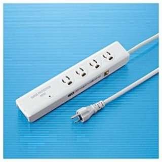 高性能雷ガード (3ピン式・4個口・2m) TAP-SPTEL4N
