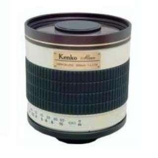 カメラレンズ ミラーレンズ 500mm F6.3 DX ホワイト [単焦点レンズ]