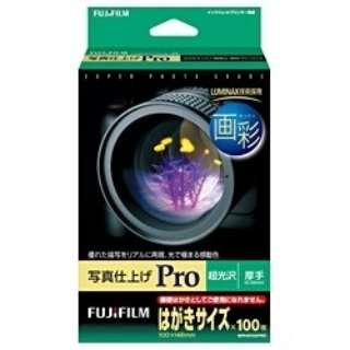 """""""画彩"""" 写真仕上げ Pro (はがきサイズ・100枚) WPHS100PRO"""
