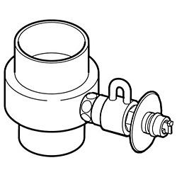 パナソニック 食器洗い乾燥機用分岐栓 CB-SXD6 食器洗い機・乾燥機