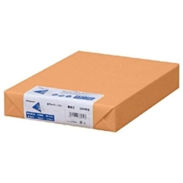 カラーペーパー 最厚口 オレンジ (B4サイズ・250枚) ナ-2568