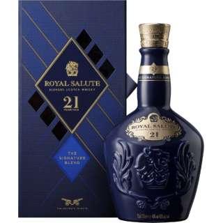 [正規品] ローヤルサルート 21年 700ml【ウイスキー】