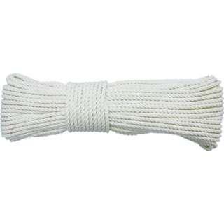 ロープ 綿ロープ3ツ打 5φ×10m A60