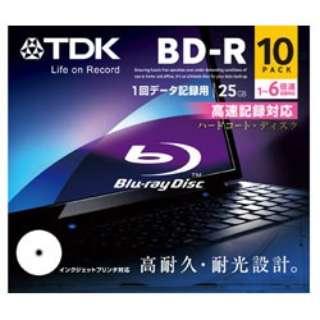 BRD25PWC10A データ用BD-R スタンダードシリーズ [10枚 /25GB /インクジェットプリンター対応]
