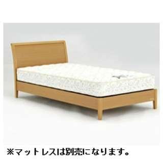 【フレームのみ】収納なし NLS-604SC[スノコ床板](セミダブルサイズ/ナチュラル)【日本製】 フランスベッド