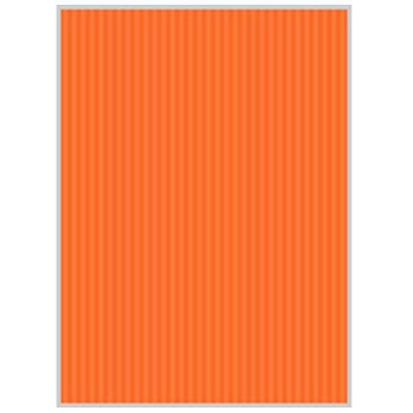 リップルボード[クラフトペーパー](B3ノビサイズ:3シート/オレンジ) RB06