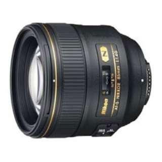 カメラレンズ AF-S NIKKOR 85mm f/1.4G NIKKOR(ニッコール) ブラック [ニコンF /単焦点レンズ]