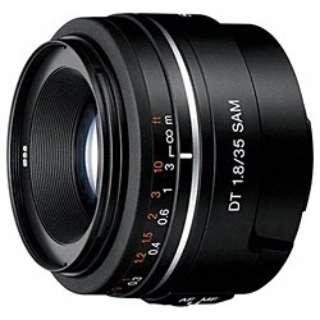 カメラレンズ DT 35mm F1.8 SAM APS-C用 ブラック SAL35F18 [ソニーA(α) /単焦点レンズ]
