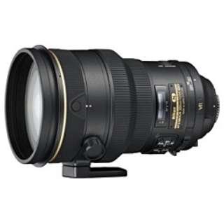 カメラレンズ AF-S NIKKOR 200mm f/2G ED VR II NIKKOR(ニッコール) ブラック [ニコンF /単焦点レンズ]