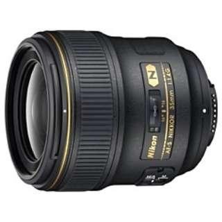 カメラレンズ AF-S NIKKOR 35mm f/1.4G NIKKOR(ニッコール) ブラック [ニコンF /単焦点レンズ]