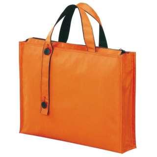 キャリングバッグ 2ウェイタイプ ワイド B4サイズ A-7651-4 橙