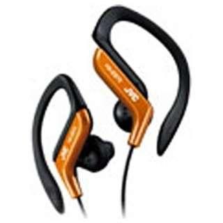 耳かけ型 オレンジ HA-EB75-D [防滴 /φ3.5mm ミニプラグ]