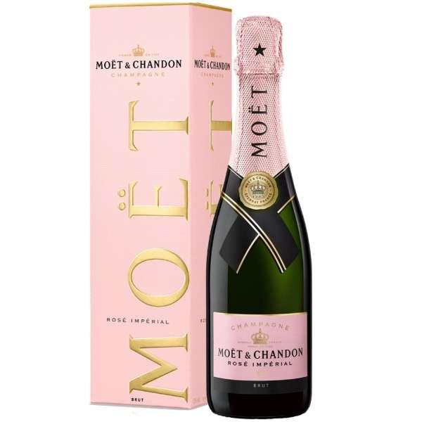 [正規品] モエ・エ・シャンドン ロゼ・アンペリアル ハーフボトル 375ml【シャンパン】