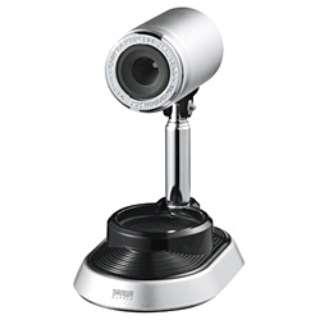 CMS-V34 ウェブカメラ シルバー [有線]