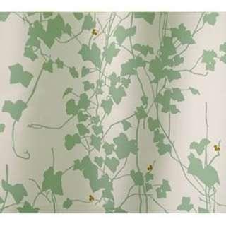 ドレープカーテン ヘデラ(100×135cm/グリーン)【日本製】[生産完了品 在庫限り]
