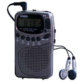 携帯ラジオ R10-096DZ [AM/FM /ワイドFM対応]