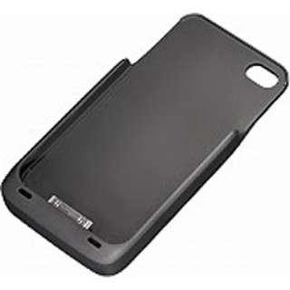 iPhone 4用 ワイヤレス充電器「エアボルテージ」 充電用カバー (黒) WP-SL10A.BK
