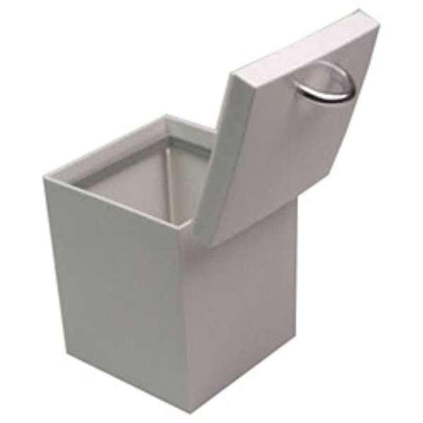 カスケット トイレポット TN211-W ホワイト〔トイレ用ブラシ・ポット〕