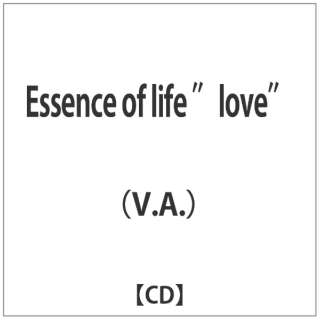 "(V.A.)/Essence of life ""love"" 【CD】"