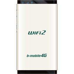 b-mobile4G WiFi2 BM-AMR510WH [パールホワイト]