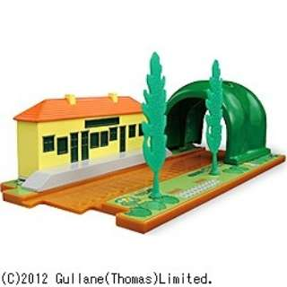 トミカトーマス情景セット 駅とトンネル