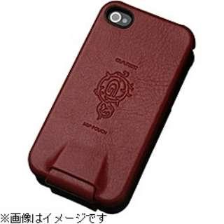 iPhone 4S/4用 ケース GARIZ コラボモデル (レッド) [SPIGEN SGP] SGP08674