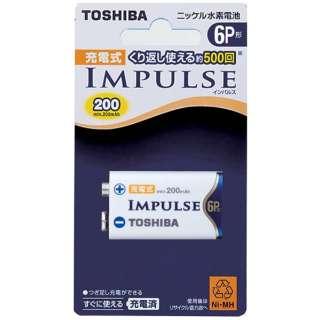 【6P形ニッケル水素充電池】 1本 「IMPULSE」 6TNH22A