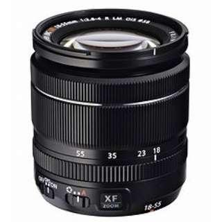 カメラレンズ XF18-55mmF2.8-4 R LM OIS FUJINON(フジノン) ブラック [FUJIFILM X /ズームレンズ]
