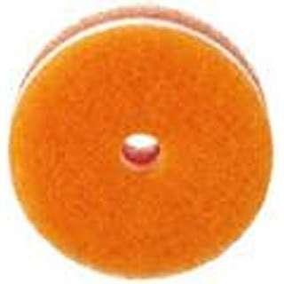 POCOキッチンスポンジ(吸盤なし・リフィル) K095O   オレンジ〔たわし・スポンジ〕