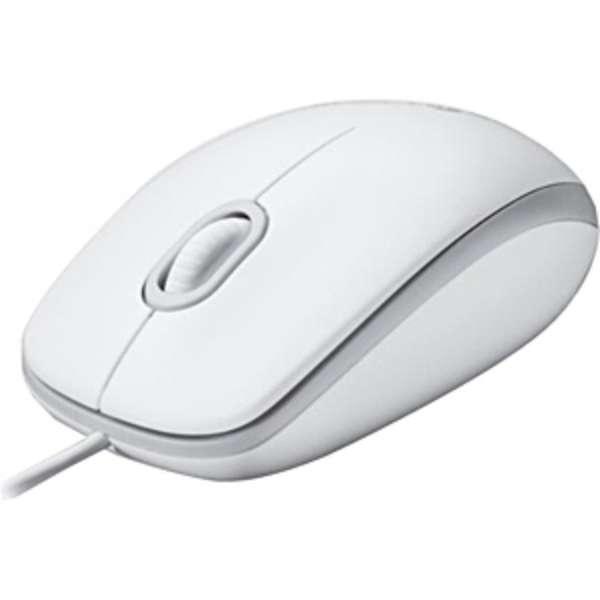 M100rWH マウス ホワイト  [光学式 /3ボタン /USB /有線]