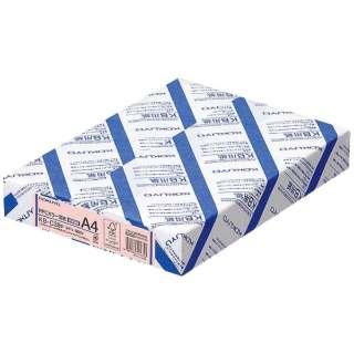 PPCカラー用紙(共用紙)  (A4・500枚/ピンク) KB-C39NP