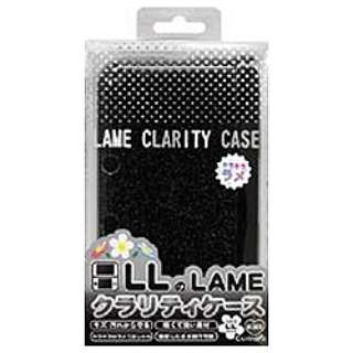 3DS LL用 ラメクラリティケース ブラック【3DS LL】