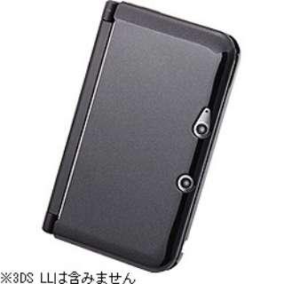 ハードコーティング・ハードジャケット パールブラック【3DS LL】