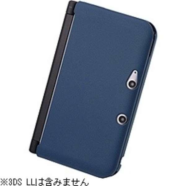 ラバーコーティング・アーバン・ハードジャケット ネイビー【3DS LL】