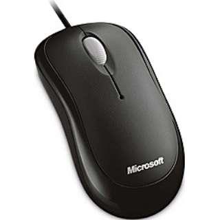 4YH-00003 マウス Basic Optical Mouse セサミブラック  [光学式 /3ボタン /USB /有線]