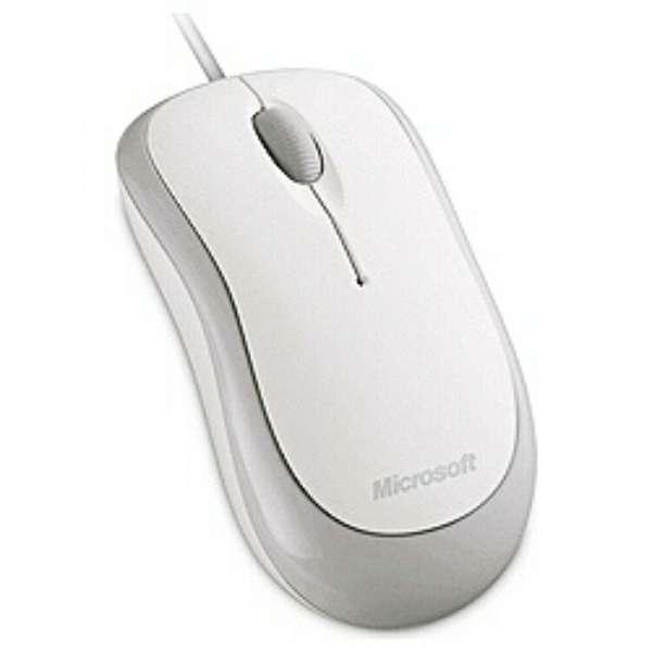 4YH-00004 マウス Basic Optical Mouse シルキーホワイト  [光学式 /3ボタン /USB /有線]