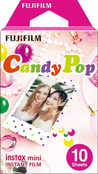 チェキ インスタントフィルム カラー instax mini CandyPop(キャンディポップ) [10枚 /1パック]