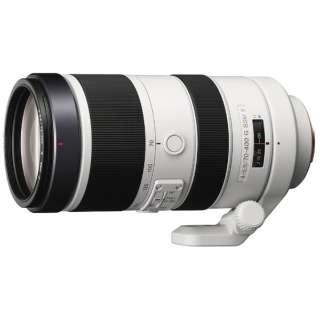 カメラレンズ 70-400mm F4-5.6 G SSM II ホワイト SAL70400G2 [ソニーA(α) /ズームレンズ]