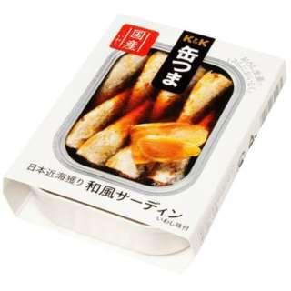 缶つま プレミアム 和風サーディン 105g【おつまみ・食品】