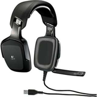 ゲーミングヘッドセット ブラック [USB /両耳 /ヘッドバンドタイプ /オーバーヘッド]