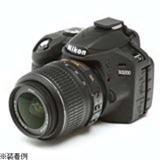 イージーカバー Nikon D3200用(ブラック)