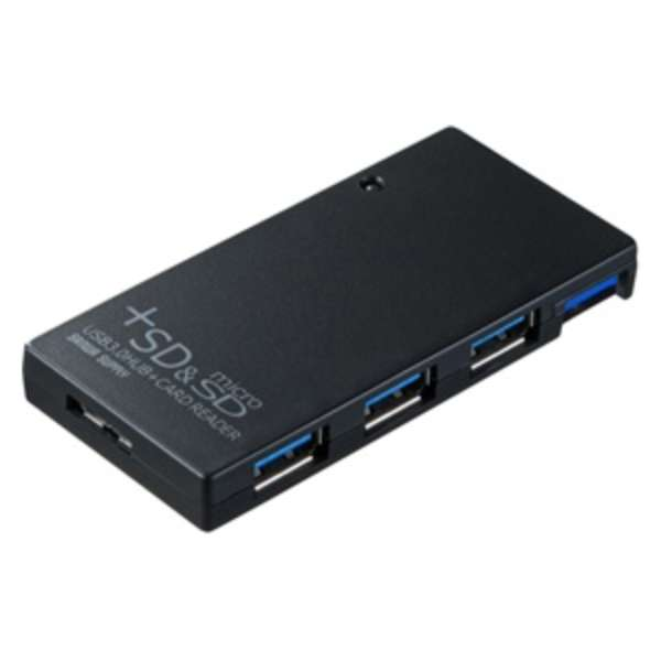 USB-HCS315 USBハブ  ブラック [USB3.0対応 / 3ポート / バスパワー]