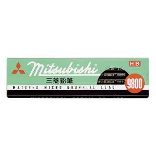 [鉛筆] 事務用鉛筆 9800 (入数:1ダース、硬度:HB) K9800HB
