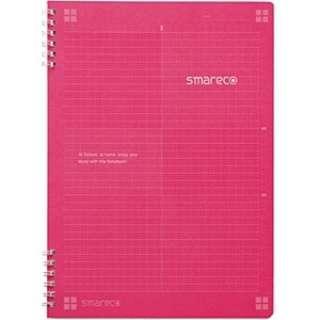 smareco用 スマレコノート 自由分割タイプ(ノート) Wリングノート B5 ロジカルA罫(ピンク) NW-B502A-P