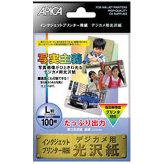WP2827 デジカメ光沢L判両面 100枚